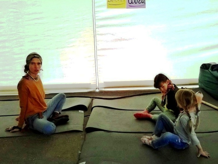 Йога детская мастер-класс