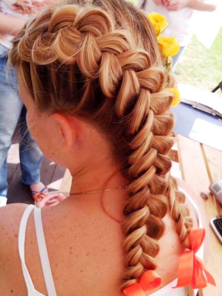 Плетение кос мастер-класс