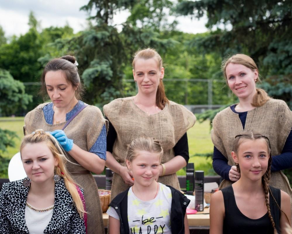 Мастер-класс по плетению косичек