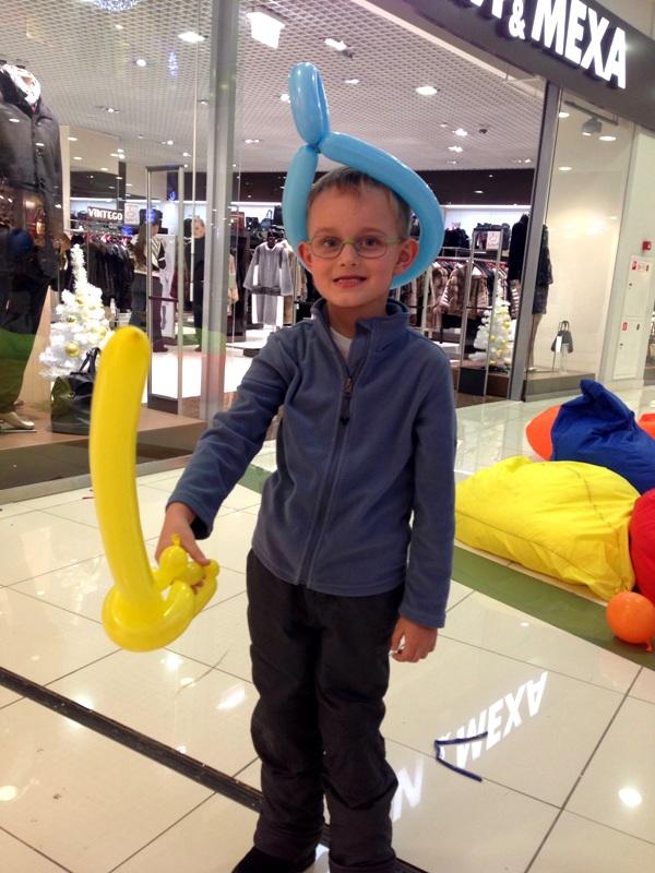 Твистинг на детский праздник
