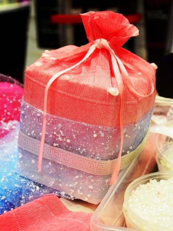 Упаковка подарков промо акция