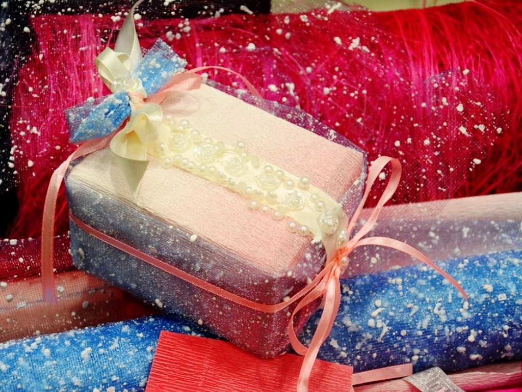 Упаковка подарков на мероприятие