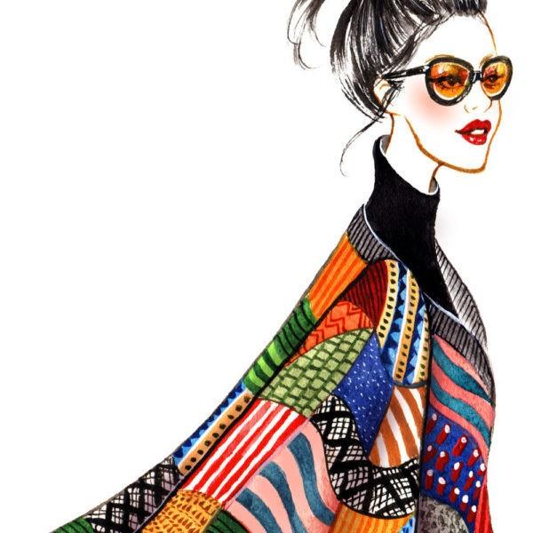 Fashion sketching мастер-класс в Москве