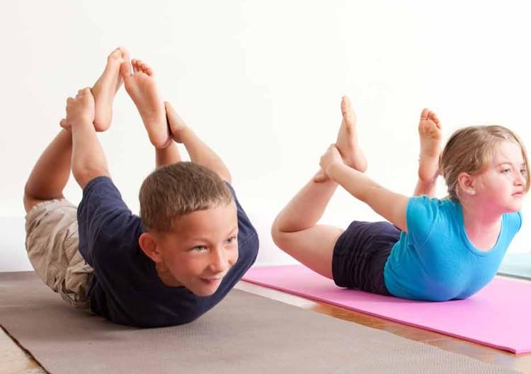 Йога для детей на мероприятие