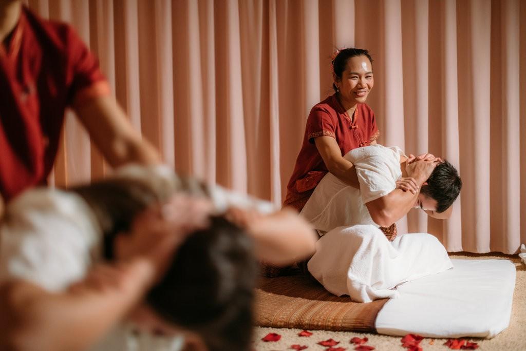 Тайский массаж выездной мастер-класс
