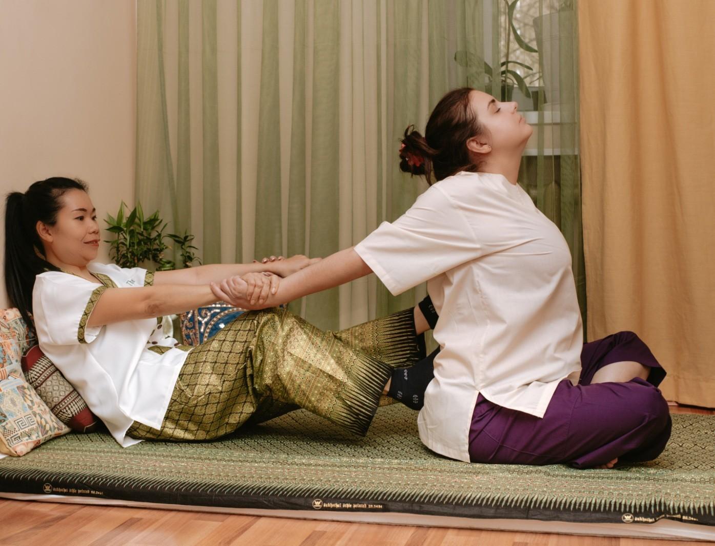 Мастер-класс по тайскому массажу