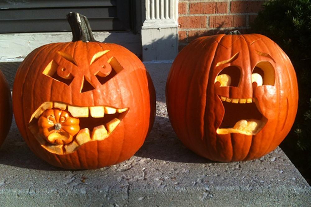 Выездной мастер-класс тыква на хэллоуин