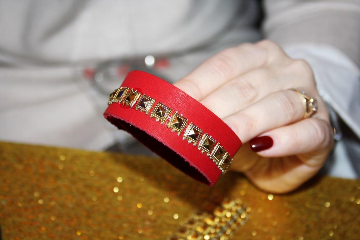 мастер-класс по изготовлению кожаных браслетов