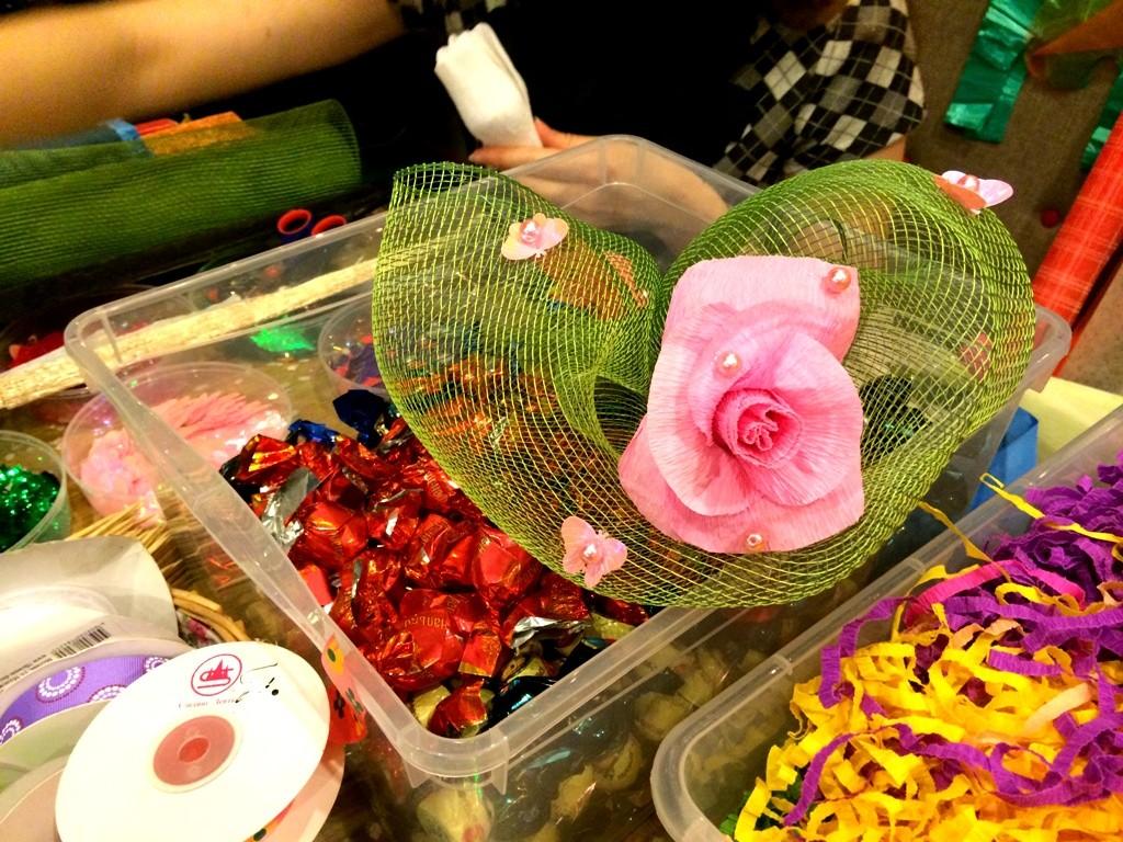 Мастер-класс по изготовлению букетов из конфет
