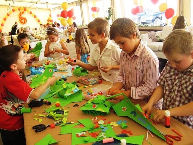 Творческий выездной мастер-класс на праздник