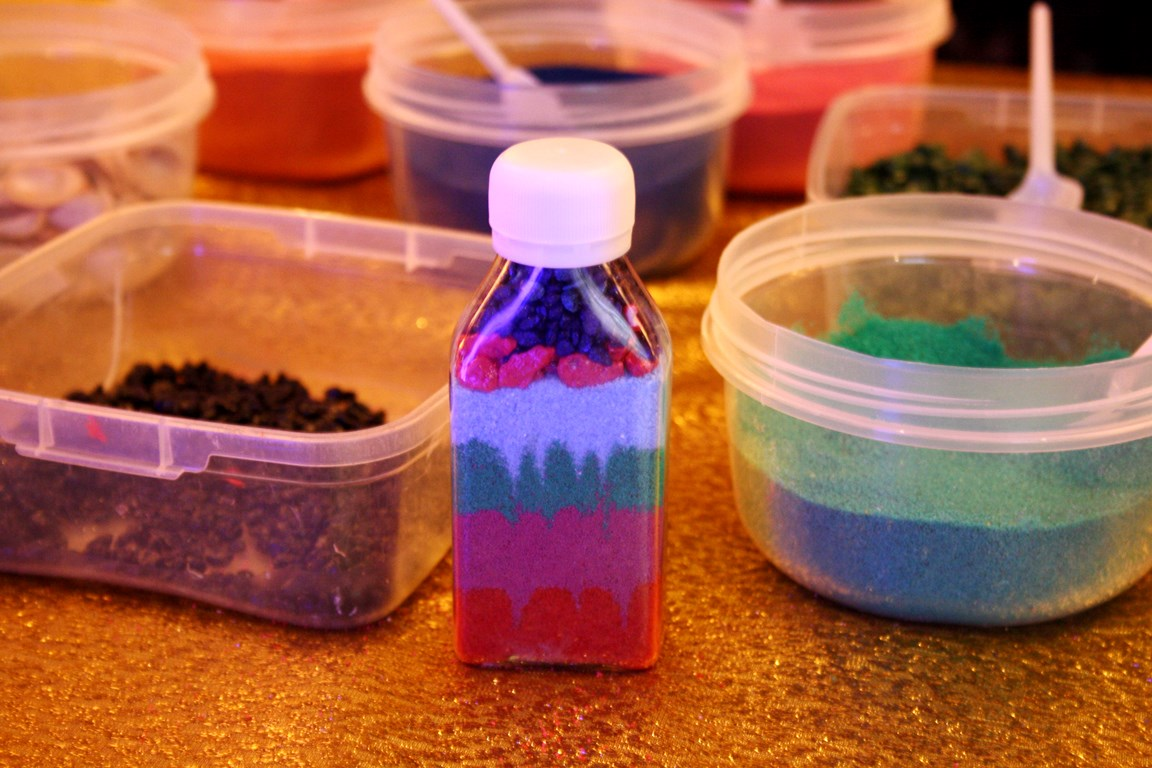 мастер-класс по изготовлению бутылочки с песком