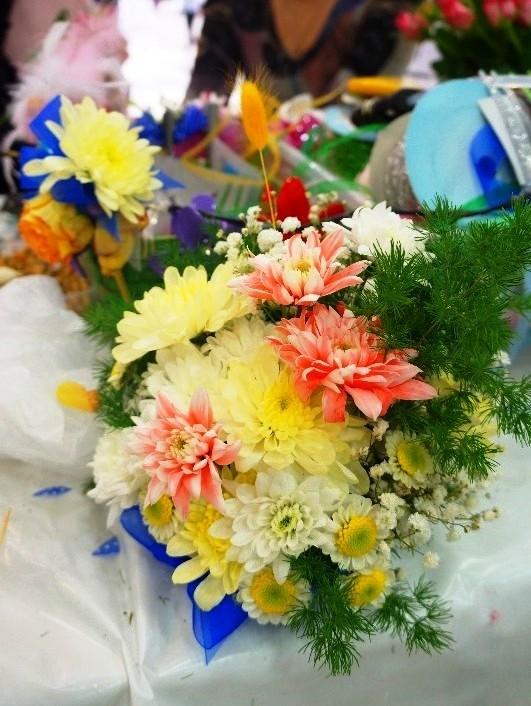 композиции из цветов на свадьбу