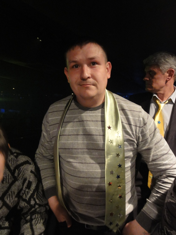 Мастер-класс по росписи галстуков