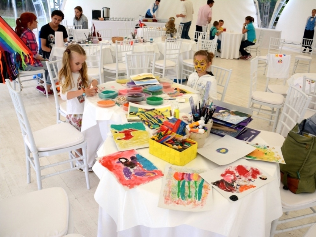 Творческий мастер-класс на праздник