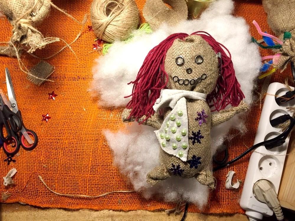 Куклы из мешковины мастер-класс