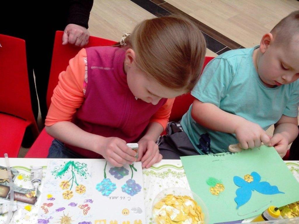 Творческий мастер-класс для детей