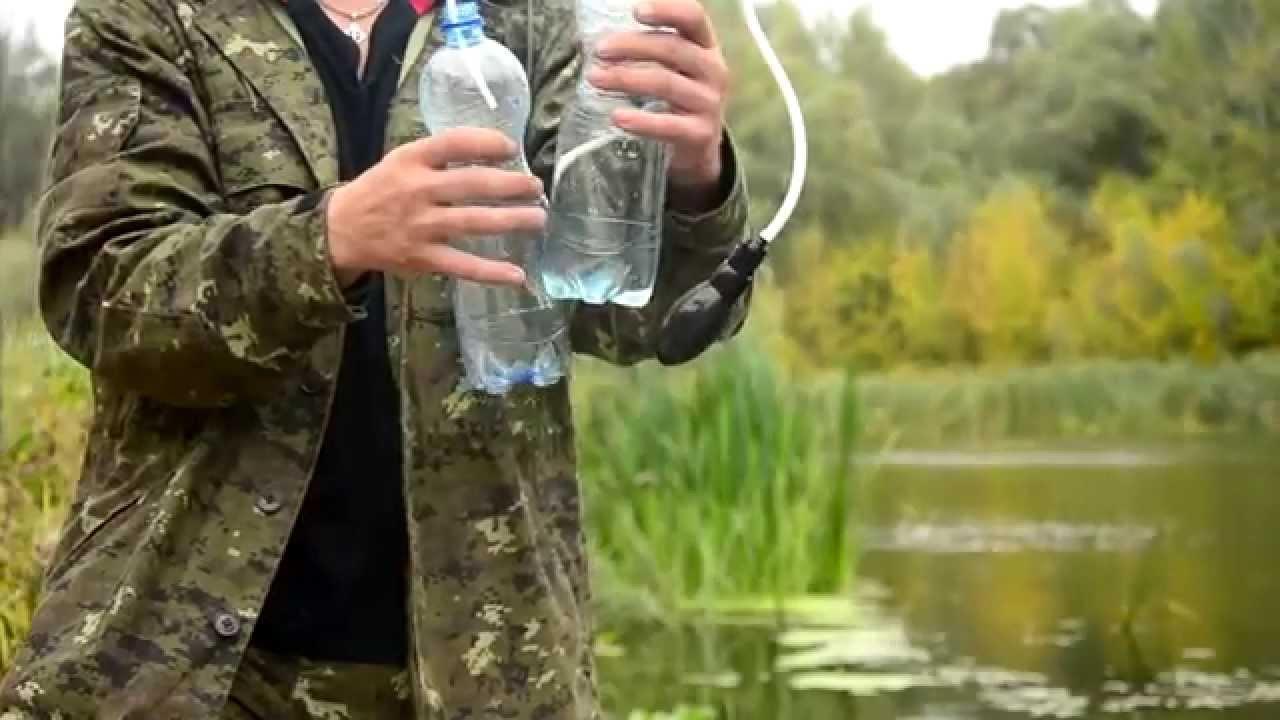 Создание очистителя для воды своими руками