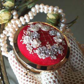 Декорирование карманного зеркала
