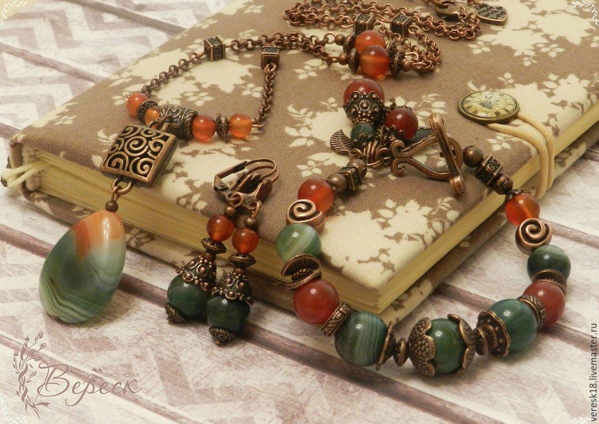 Мастер-класс по созданию украшений из натуральных камней