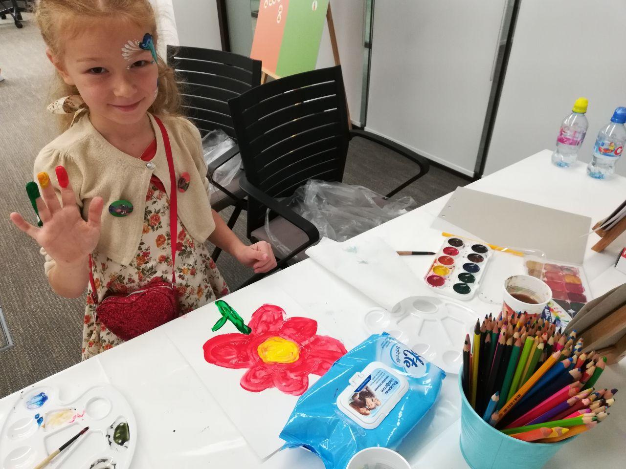 Мастер-класс по рисованию пальчиковыми красками