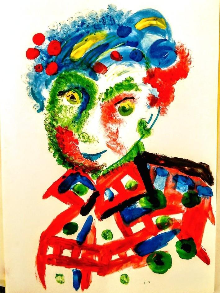 Рисование пальчиковыми красками мастер-класс