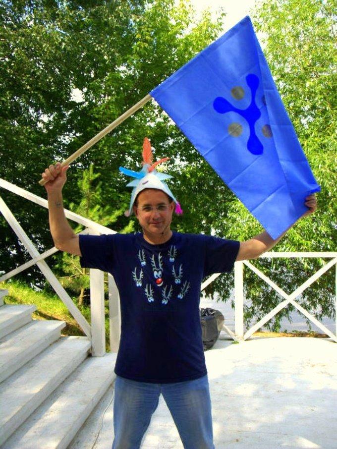 Коллективная Роспись флагов и транспарантов