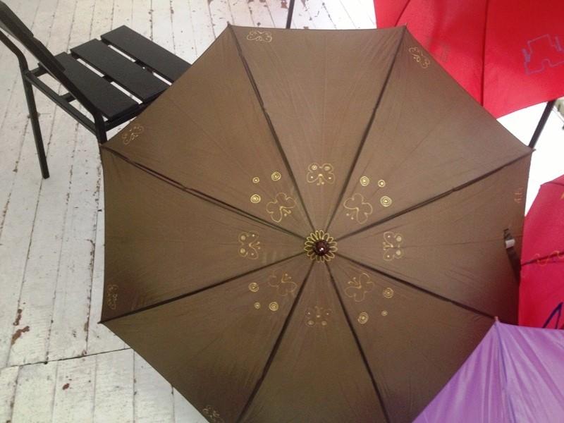 зонт с рисунком