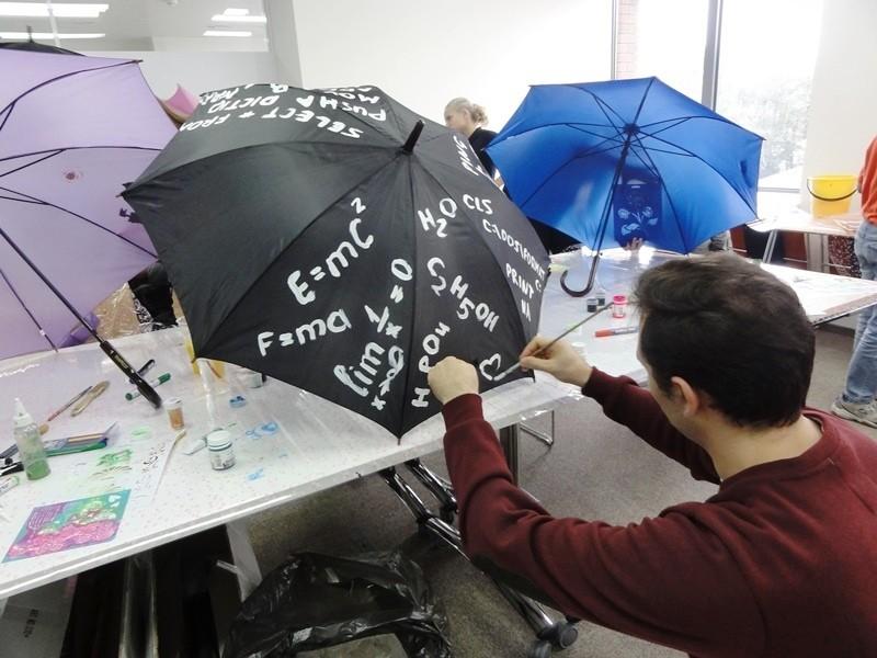 дизайнерский зонт