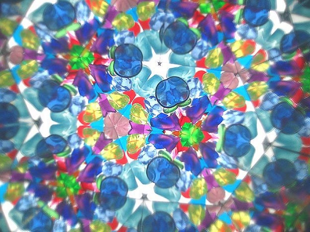 цветная мозаика