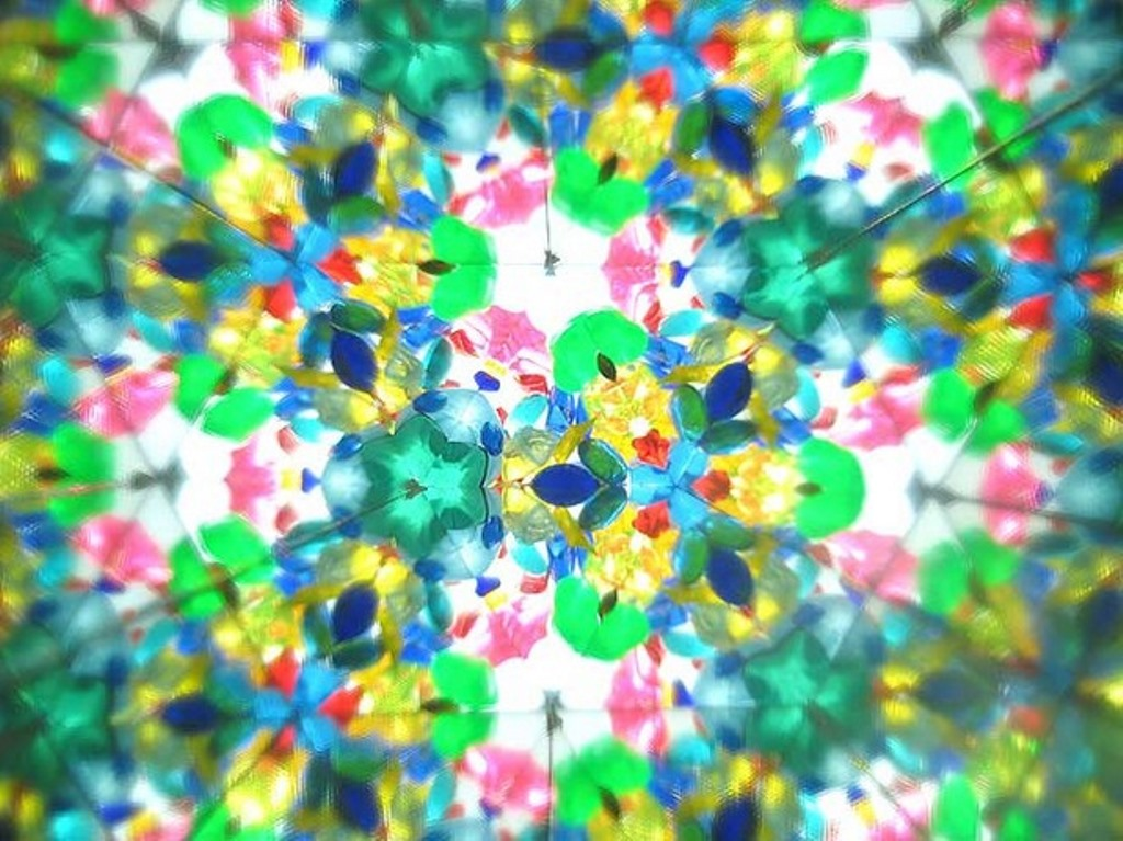 цветная мозайка