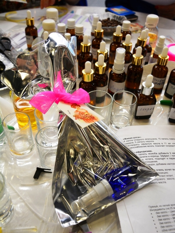 парфюмерный бар на мероприятие