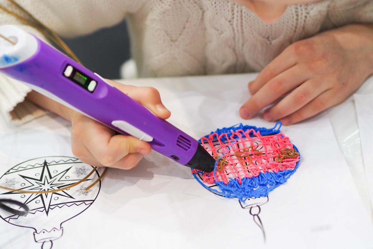 рисование 3d ручкой мастер класс