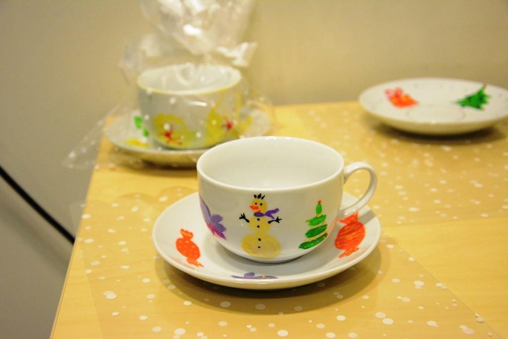 Роспись чайной пары своими руками