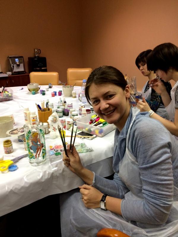 мастер-класс по росписи