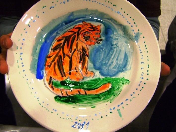 Выездной мастер-класс по росписи тарелок