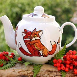 Чайник роспись мастер-класс