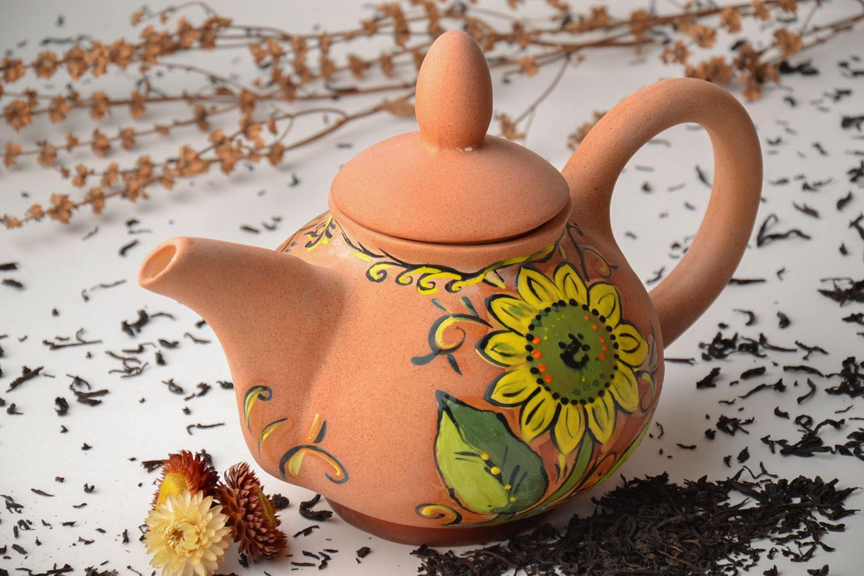 Роспись керамических чайников мастер-класс