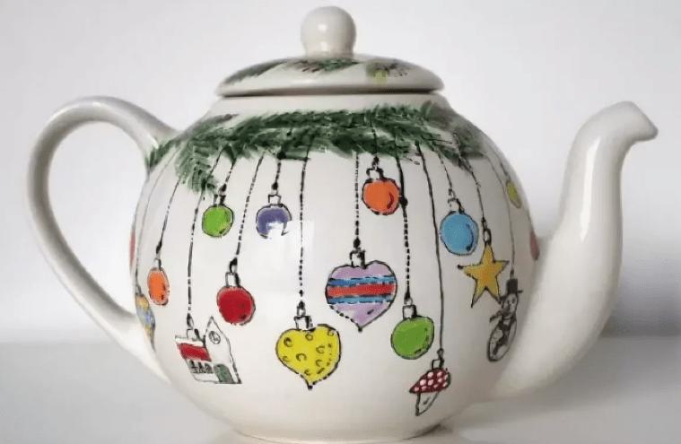 Роспись чайников мастер-класс