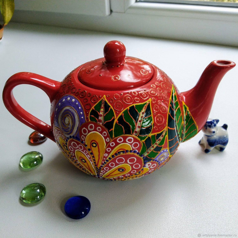 Чайник роспись