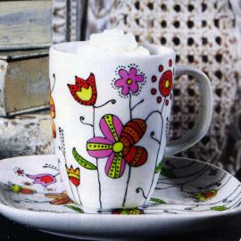 Чайная пара роспись