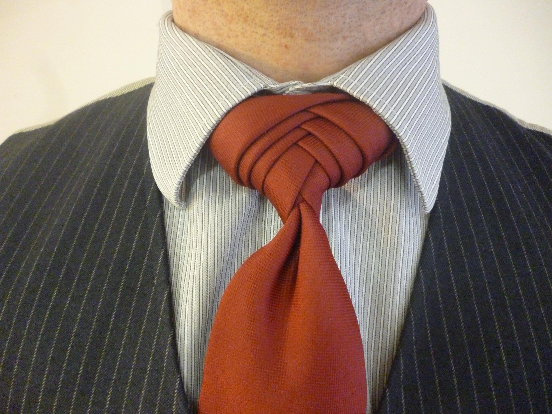 Техники завязывания галстуков