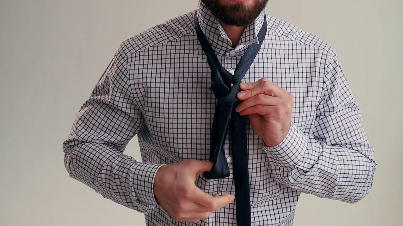 Мастер-класс по завязыванию галстуков