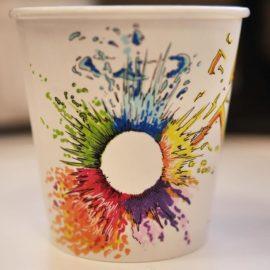 Роспись эко стаканов