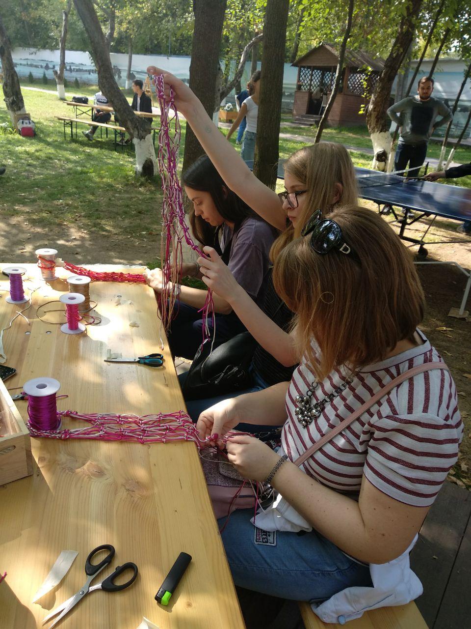 Выездной мастер-класс по плетению авосек
