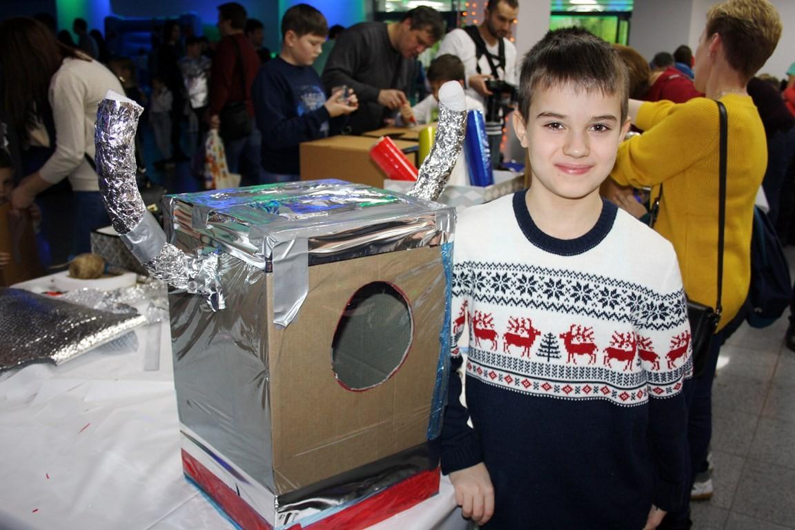 Мастер-класс для детей роботы