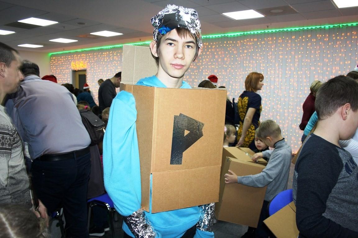 Мастер-класс по изготовлению костюмов для роботов