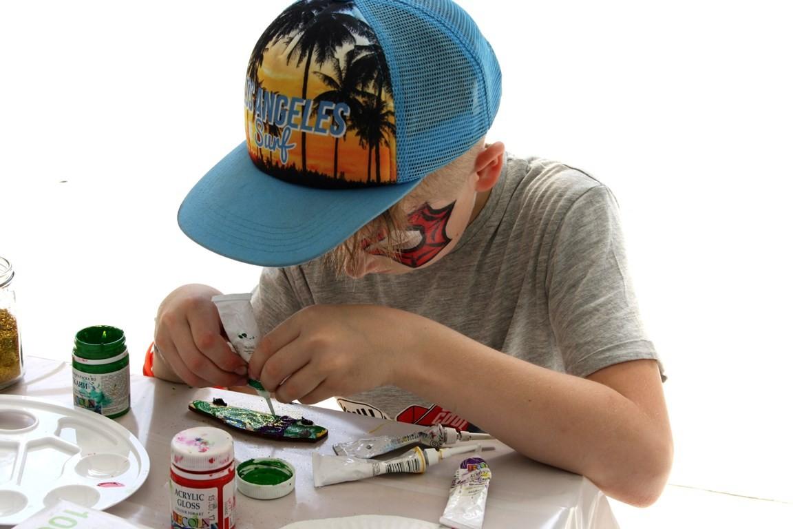 Мастер-класс по росписи деревянных игрушек