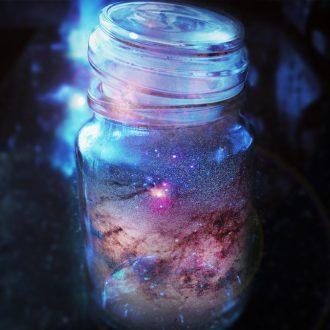 Космос в бутылочке