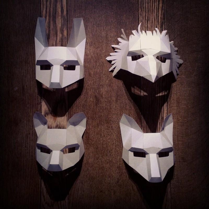 Изготовление полигональных масок
