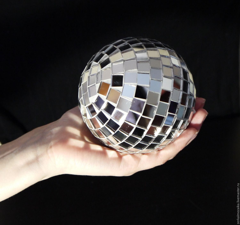 Выездной мастер-класс диско шар